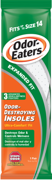 Odor-Eaters Expanded Fit Insole