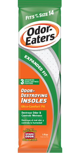 Odor-Eaters Expanded-Fit Insoles