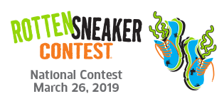 Rotten Sneaker Contest: National Contest March 26, 2019